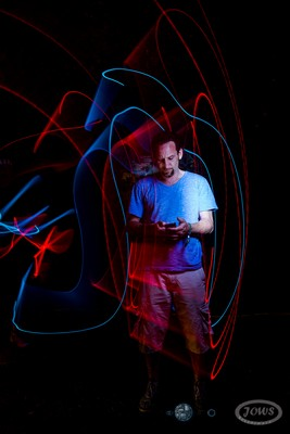 JOWS-Fotografie: Light-Art-Portrait - Photocall
